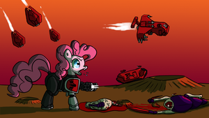 Pinkie Tactical by QuantumBJump