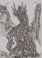 Fatalis and JACK by BnW-JACK