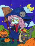 Give-Me-Color 2014 Halloween Colouring Contest by Maiko-Girl