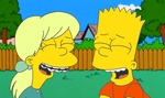 Bart x Becky - The Laughs They Share by KidBobobo