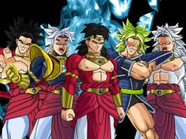Broly Transformation Wallpaper by towle4