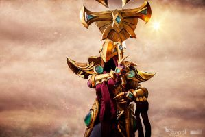 Azir Emperor of the Sands - League of Legends by Shappi