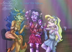 'Sly Cooper' Girls Night out... by Moon-Shyne