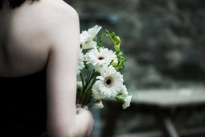 Bride and Bouquet by sol0dolo
