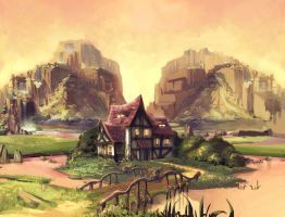 fairytale project house by Abuze