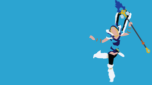 Crystal Maiden Minimalist Wallpaper by Oldhat104