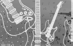 Guitar wallpaper by Spank-My-Joystick
