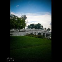 Chinese Garden I by Renez