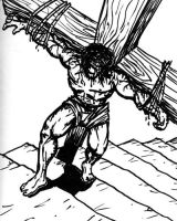 Carrying the Cross by SethWolfshorndl