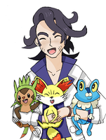 Welcome to Kalos! by AnimeBlue92