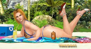 Tina Armstrong-DOA5     BEACH-QUEEN by blw7920