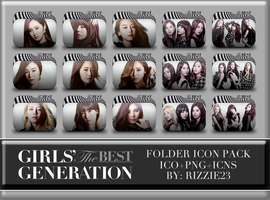 SNSD The Best Folder Icon Pack by Rizzie23
