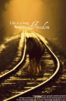 life is a long road to freedom by Animal-Talents