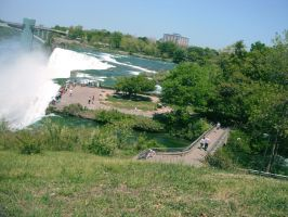 the views of the falls by mysteriousfantasy