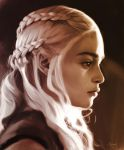 Portrait of Daenerys Targaryen by s3lwyn