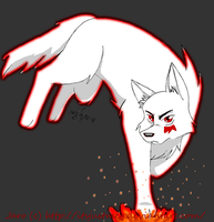 Jaro:Wolf Of Flame by itsjustmeg