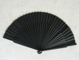 black fan stock by Mihraystock