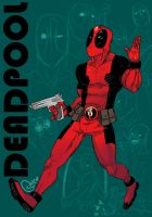 DeadPool by wogeic