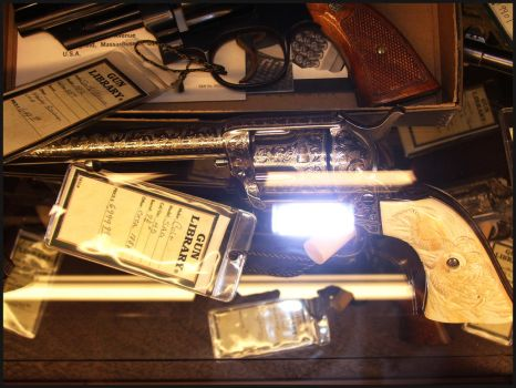 Colt SAA Engraved 2 by TheOneCalledNio