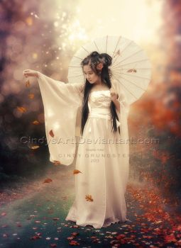 Chinese girl by CindysArt