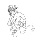 Latex Lion TF lineart by Rei98