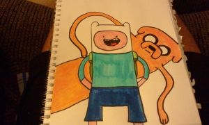 Adventure Time: Marker Style by fooflamfinn