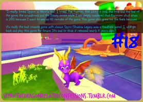 ( Spyro Confessions ) #18 A Hero's Tail Love by KrazyKari