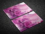 Simple Watercolor Business Card by nazdrag
