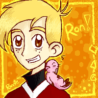 KP- Ron Stoppable + Rufus by DannyPhantomFreek