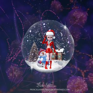 Christmas Bubble by Pristy