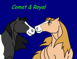 Comet and... Royal? by Jackpot700