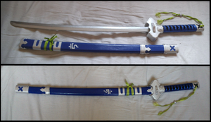 Ao no Exorcist cosplay weapon Kurikara by NasukeUchimaki