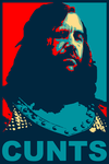 The Hound Obama Poster by spacehamster