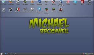 My desktop 22-4-11 by mbrockwell