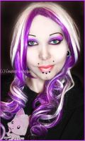 . purple and white . by Countess-Grotesque