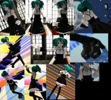 Hatsune Miku outfit Electric Love reference sheet by shadowcat-666