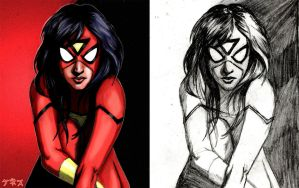 Spider-Woman by KennyGordon