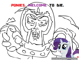 Magneto is Best Pony by RyomaGod
