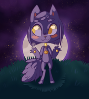 Full moon by Mesmeromania