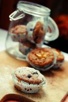 Blueberry Muffins by DarkPati