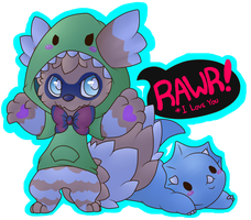 : RAWR : by ToxiicClaws