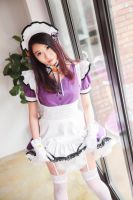 Welcome to Pia Carrot! G.O - Maid Cosplay by saerasay