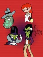 PPg villain scetchs by toongrowner