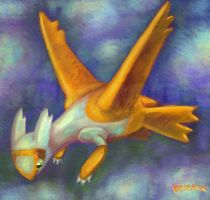 latias shiny by koiomon