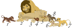 Lion Family 1 [ Open ] -Price Reduced- by paintapastime