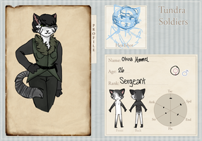 Sgt. Olivia Himmel of Neue : T.S. Application by SpottedFedoras