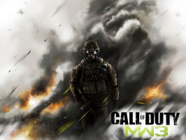 Call of DUTY: MODERN WARFARE 3 by jose144