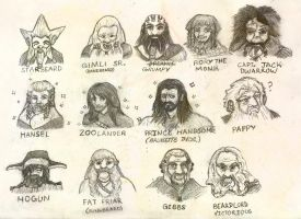 A Handy Guide to the Dwarves of Middle-Earth by Trollki