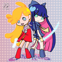 Panty and Stocking by xUsako