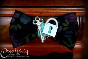 Locked Secrets Bow by CreativityFTCorrupt